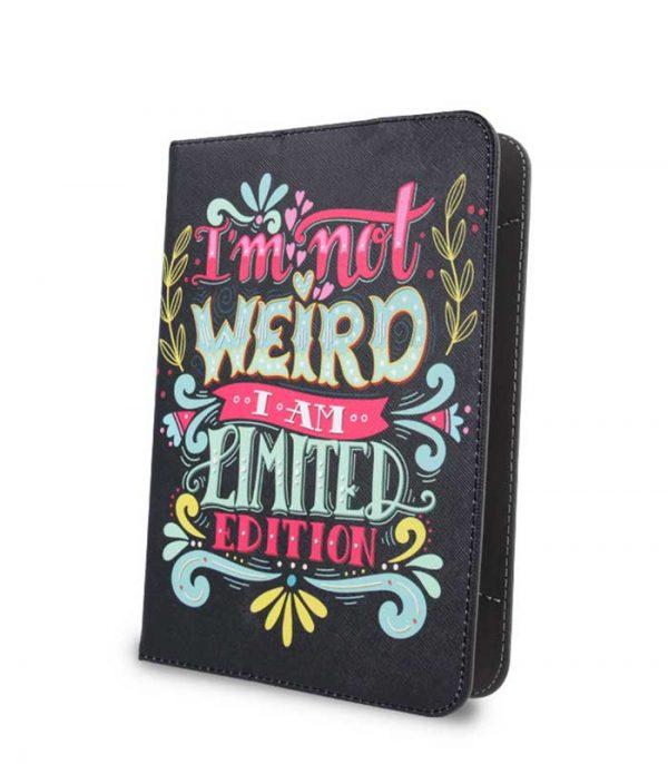 "GreenGo I'm Not Weird Universal θήκη για tablet 7-8"""