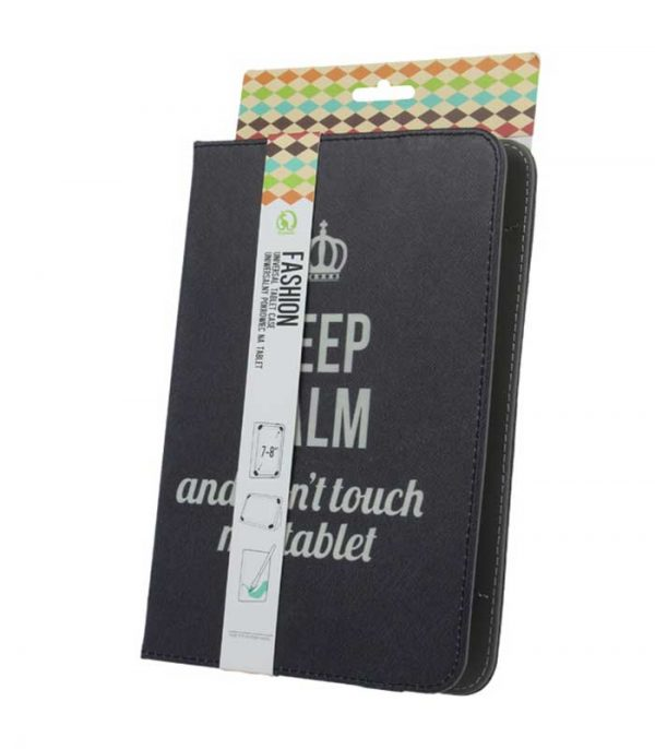 GreenGo Keep Calm Universal θήκη για tablet 7-8""