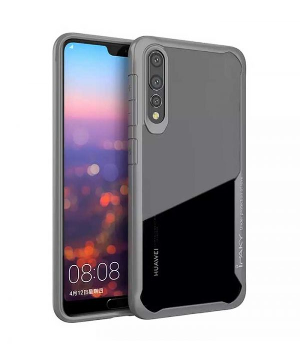 iPaky Survival Gel Anti-Fall θήκη για Huawei P20 Pro - Γκρί