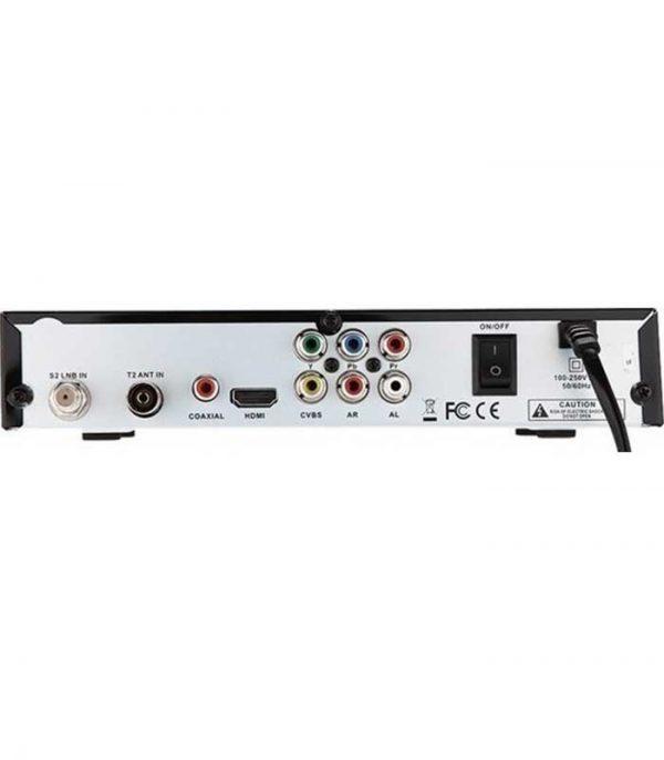 MAX Satellite Combo DVB-S2-T-T2 USB WIFI,YoutTube MGAM,CCAM..Biss Keys