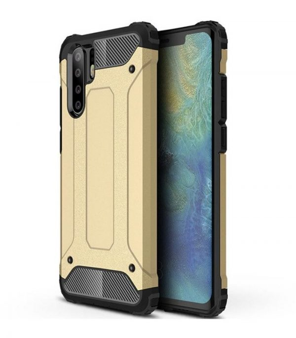 OEM Hybrid Armor / Tough Rugged θήκη για Huawei P30 Pro - Χρυσό