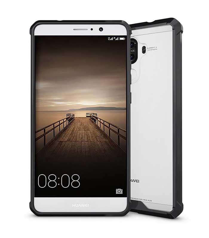 OEM Shockproof TPU case για Huawei Mate 9 - Μαύρο