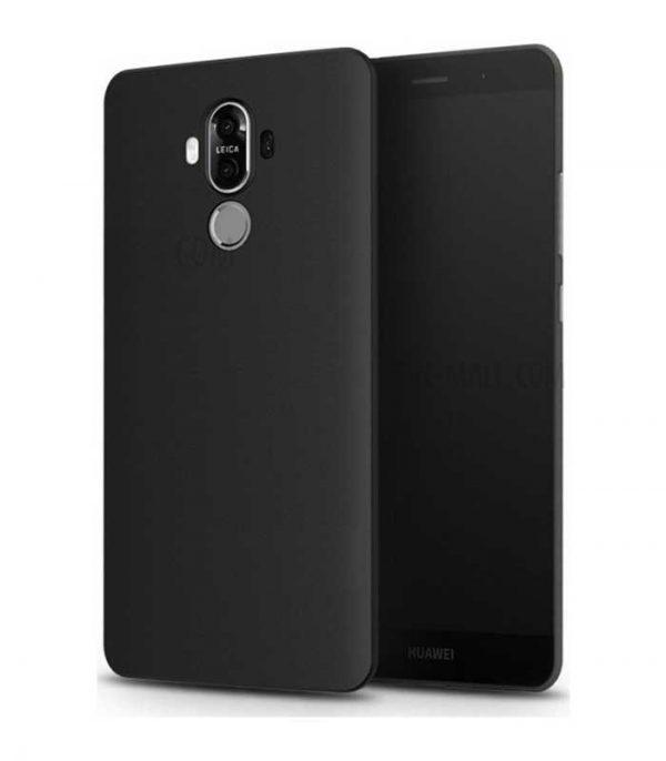 OEM Soft Matt θήκη για Huawei Mate 9 - Μαύρο