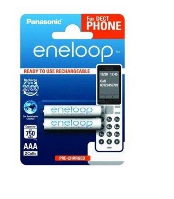Panasonic Eneloop AAA 750mAh Επαναφορτιζόμενες - (2τμχ)