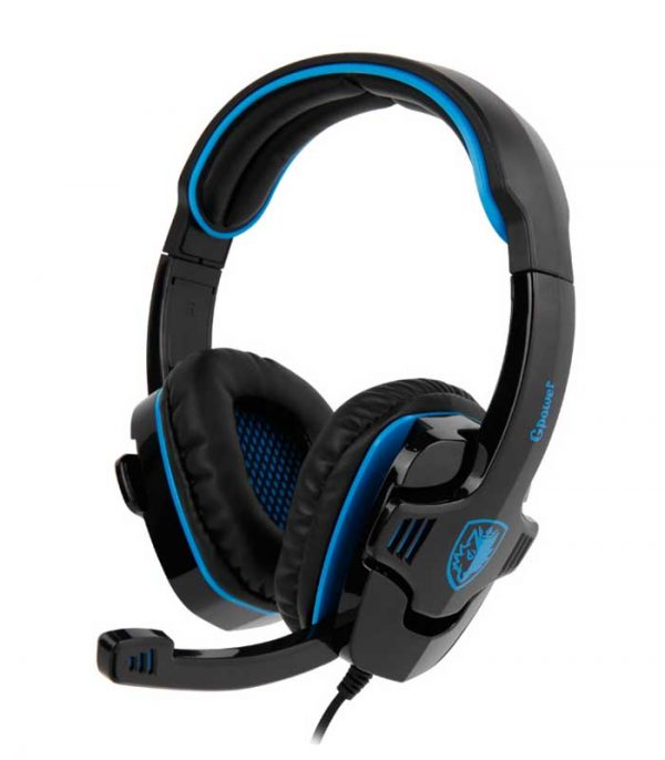 Sades GPower Gaming Headset (Μαύρο/Μπλέ)