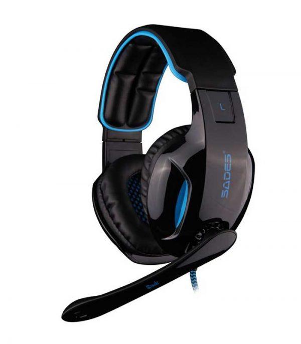 SADES Snuk Gaming Headset - USB 7.1CH (Μαύρο/Μπλέ)