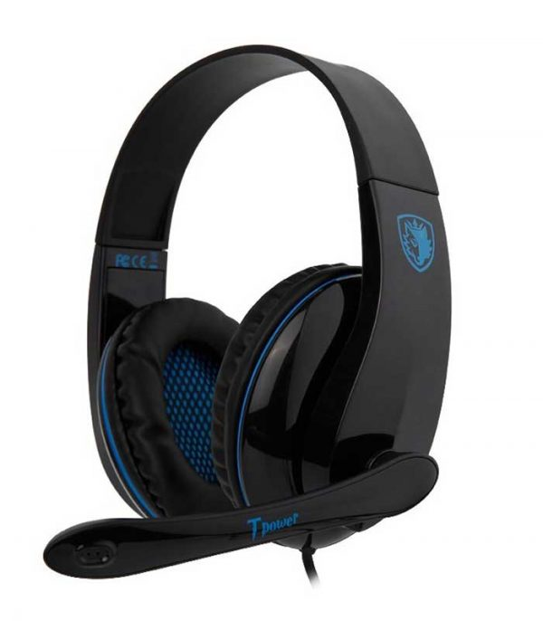 SADES Tpower Gaming Headset - Μπλέ