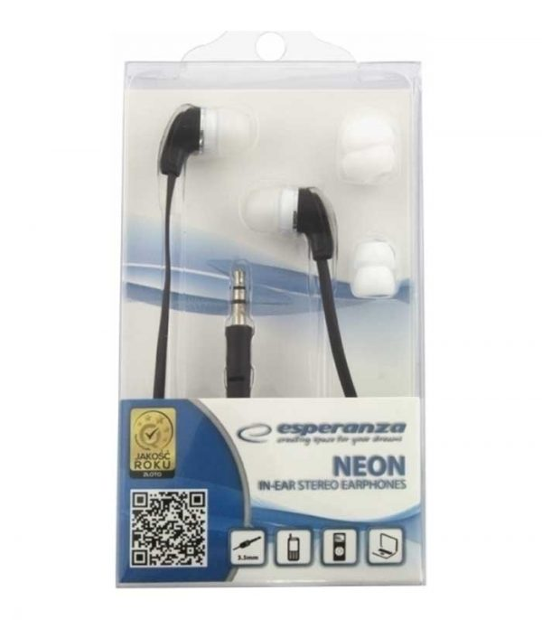 Esperanza ΕΗ147Κ Stereo Ακουστικά Neon - Μαύρο