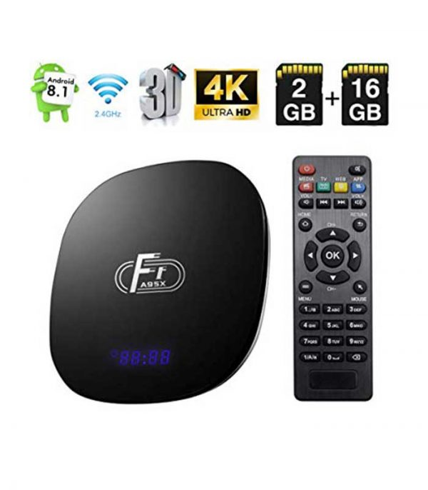 A95X F1 (S905W/2GB/16GB) 4K Android 8.1 TV Box