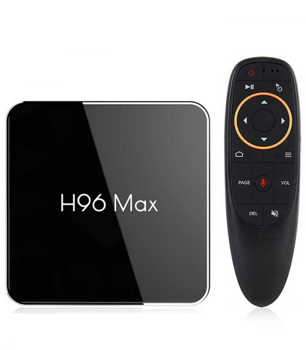 H96 MAX X2 (S905X2/2GB/16GB) 4K Android 8.1 TV Box με Voice Remote