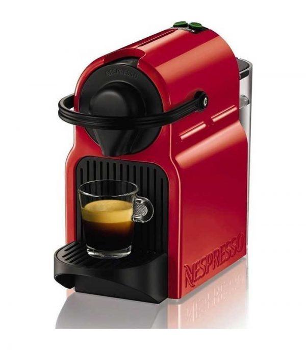Krups Nespresso Inissia Καφετιέρα & Δώρο Κάψουλες - Κόκκινο