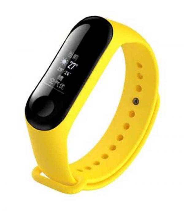 Λουράκι για Xiaomi Mi Band 3 - Κίτρινο
