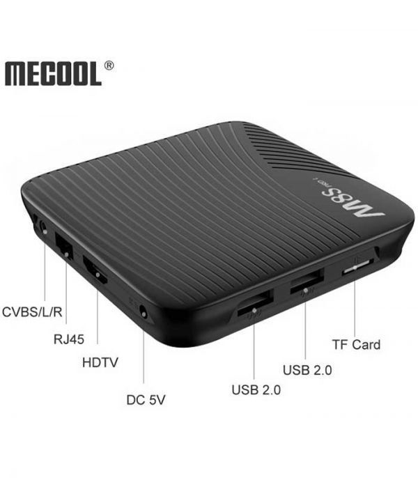 Mecool M8S PRO L (S912/3GB/32GB) 4K Voice Control Android TV Box