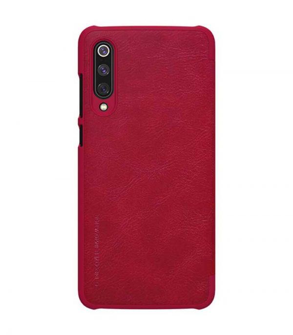 Nillkin Qin Leather Book Case για Xiaomi Mi 9 - Κόκκινο