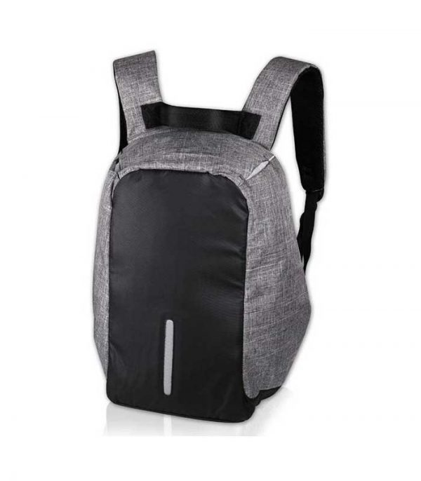 "NOD CitySafe Anti-theft Backpack για Laptop έως 15.6"" με θύρα USB - Μαύρο/Γκρί"