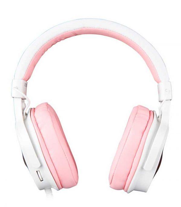 Sades Gaming Headset DPower - Ροζ
