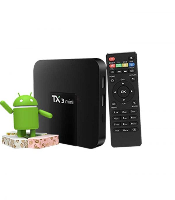 Tanix TX3 Mini (S905W/1GB/8GB) 4K WiFi Android 7.1 TV Box