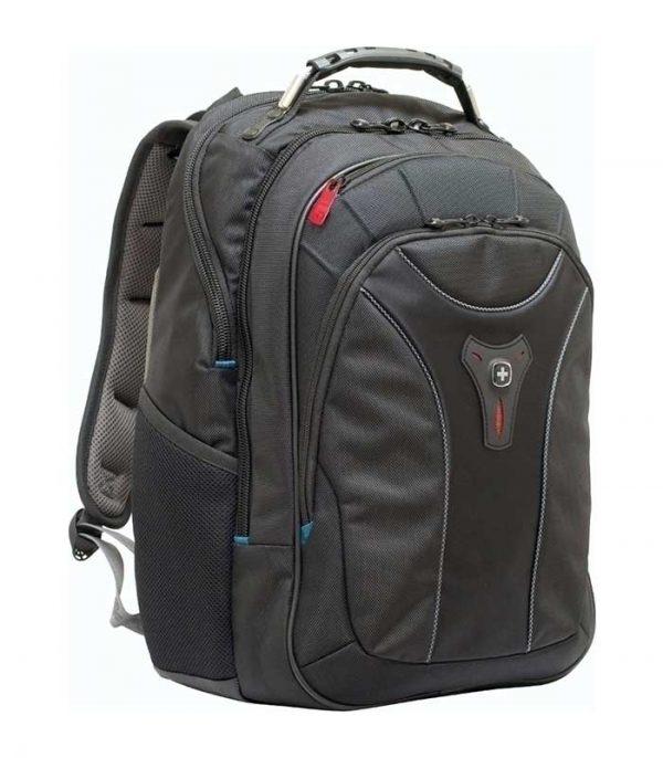 """Wenger Carbon 17"""" Backpack Τσαντα Laptop εώς 43,9cm - Μαύρο"""
