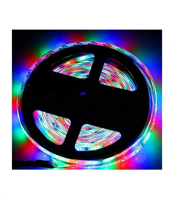 ZDM Ταινία LED 5 Μέτρα Αδιάβροχη με Τηλεχειριστήριο 24 πλήκτρων - RGB COLOR