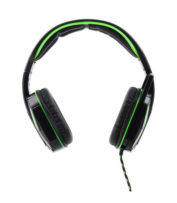 Esperanza EGH340 Snake Gaming Headphones - Πράσινο/Μαύρο