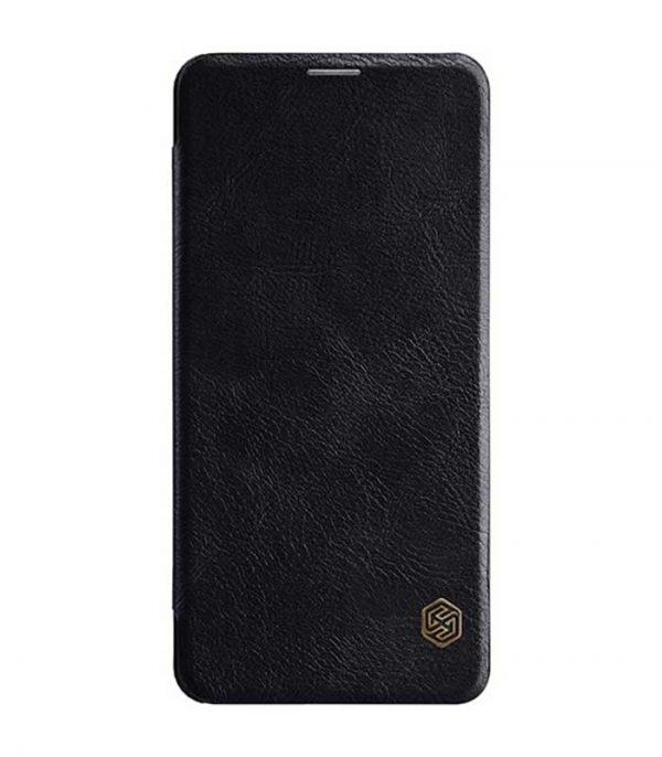 Nillkin Qin Leather Book Case για Xiaomi Pocophone F1 – Μαύρο
