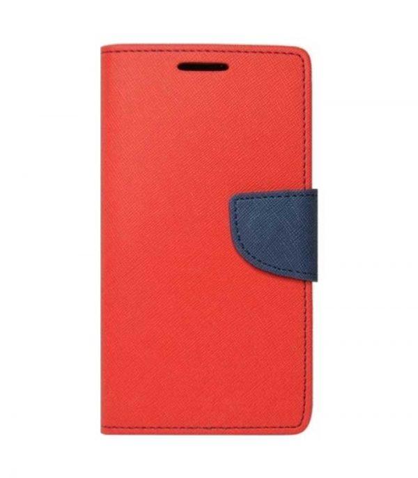OEM Fancy Book Θήκη για Xiaomi Mi Max 3 - Κόκκινο/Μπλέ