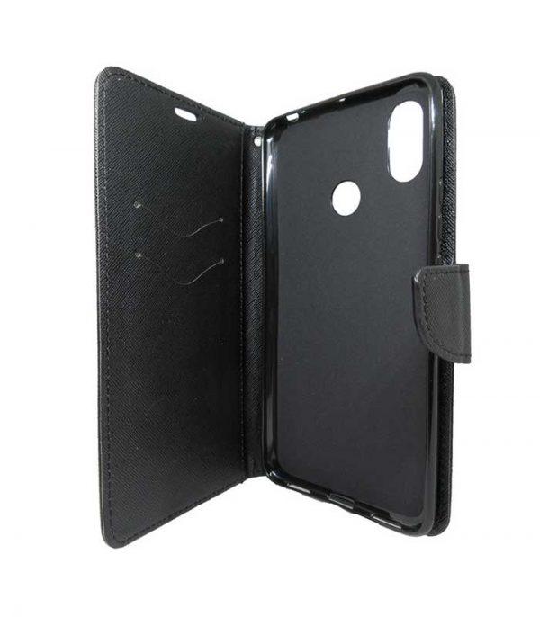 OEM Fancy Book Θήκη για Xiaomi Mi Max 3 - Μαύρο