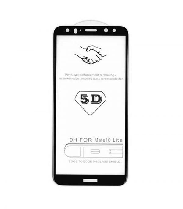 OEM Full Glue Tempered Glass 5D BOX για iPhone X/XS - Μαύρο