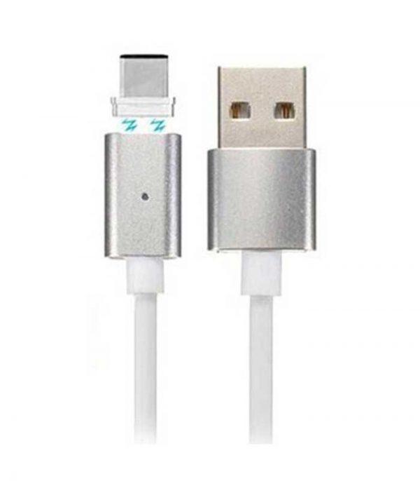 OEM Magnetic Καλώδιο USB σε USB Type-C 1m - Λευκό