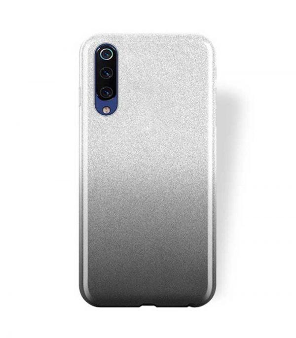 OEM TPU Glitter Θήκη για Xiaomi Mi 9 - Μαύρο