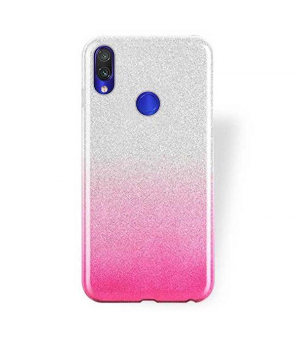 OEM TPU Glitter Θήκη για Xiaomi Redmi 7 - Ροζ