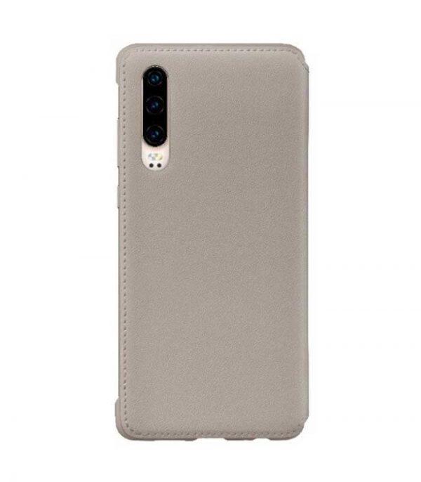 Original Wallet Flip Cover Θήκη για Huawei P30 - Χακί