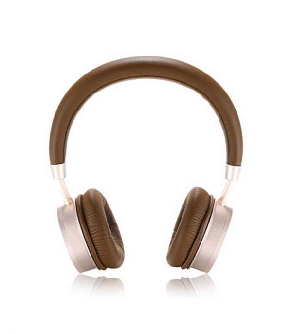 Remax RB520HB Bluetooth Headphones - Καφέ/Χρυσό