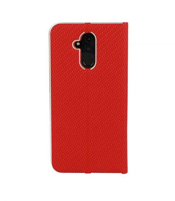 Vennus Carbon Book Θήκη για Xiaomi Pocophone F1 - Κόκκινο