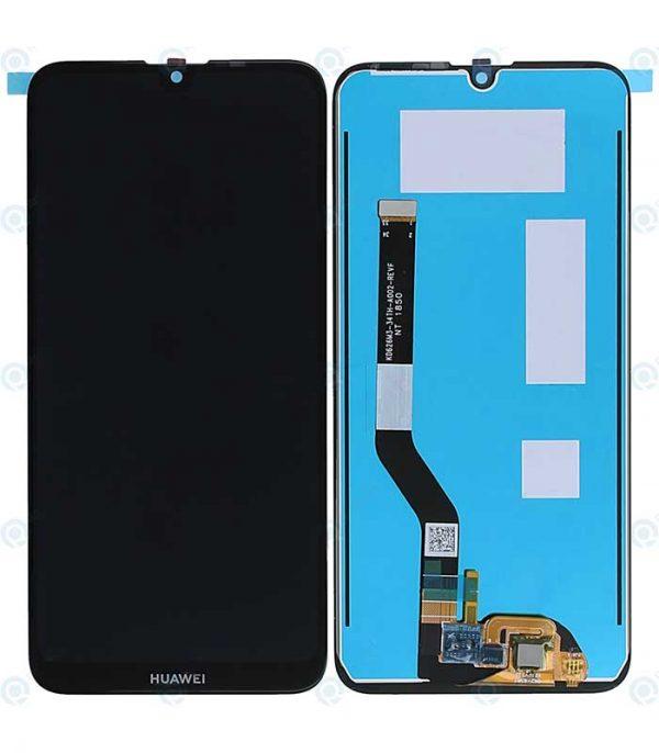 Huawei Y7 2019 Original Assembled Display+Touch Μαύρο