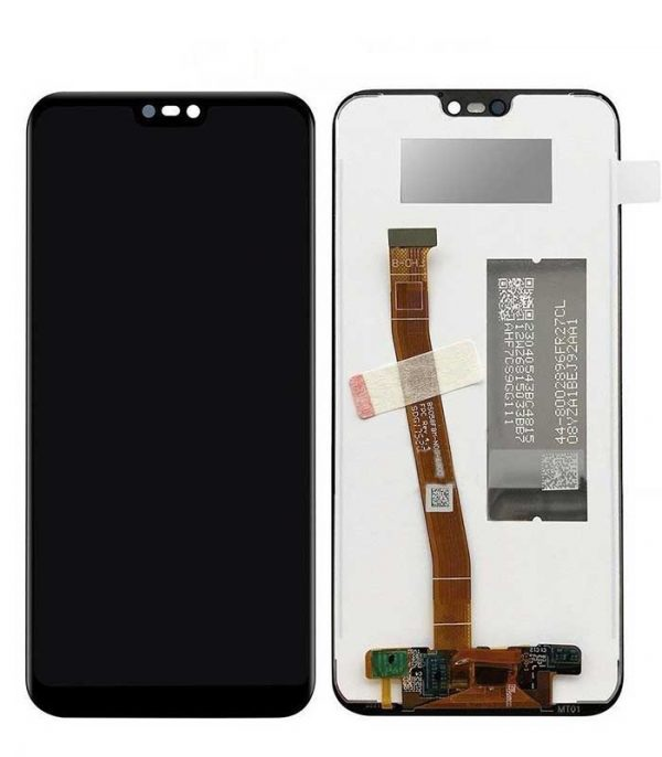 P20 Lite / Nova 3e Original Assembled Display+Touch Μαύρο