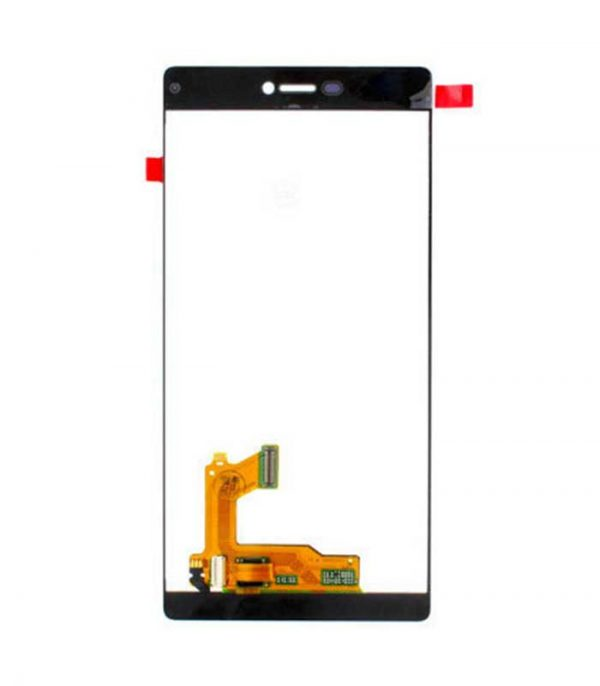 P8 Original Assembled Display+Touch Μαύρο