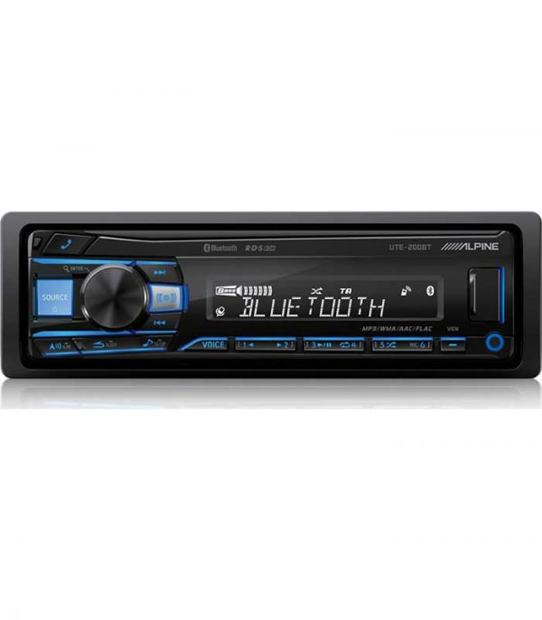 Alpine UTE-200BT RGB - Radio/USB/AUX/Bluetooth
