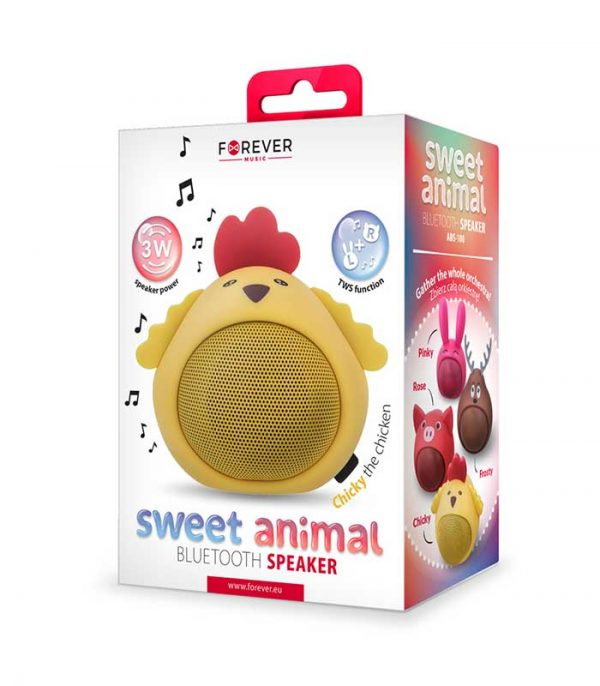 Forever Sweet Animal Chicken Chicky ABS-100 Bluetooth Speaker