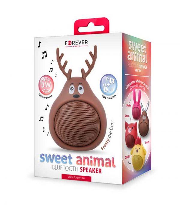 Forever Sweet Animal Deer Frosty ABS-100 Bluetooth Speaker