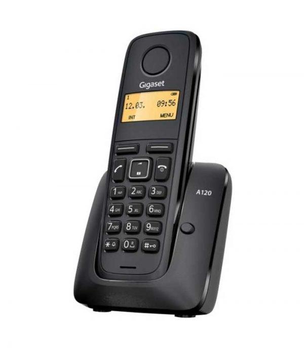 Gigaset A120 Ασύρματο Τηλέφωνο - Μαύρο
