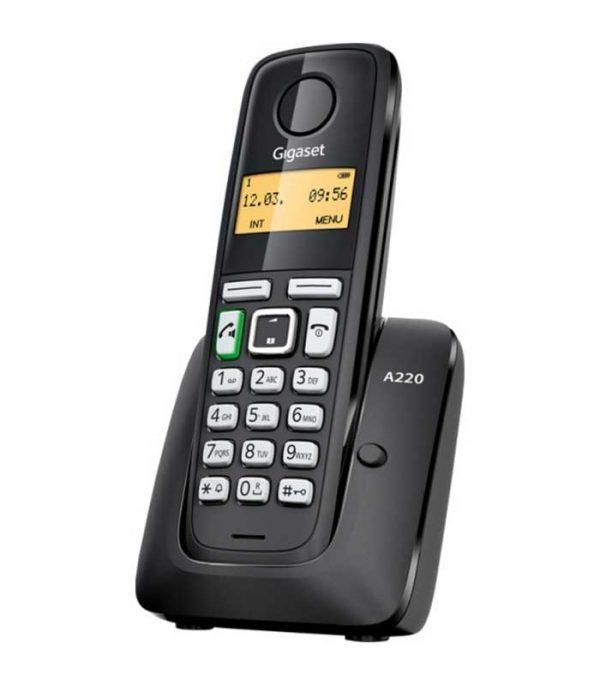 Gigaset A220 Ασύρματο Τηλέφωνο - Μαύρο