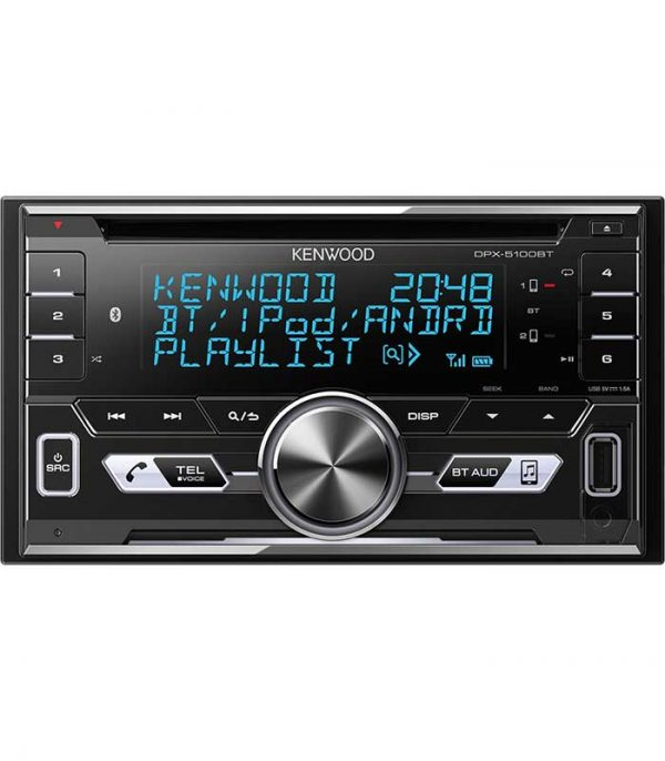 Kenwood DPX-5100BT - CD/Radio/USB/Bluetooth/AUX