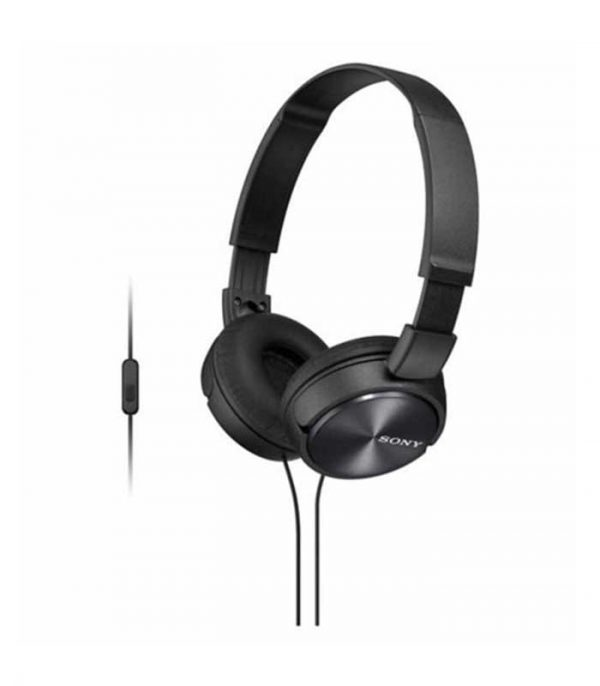 Sony MDR-ZX310AP Αναδιπλούμενα Ακουστικά - Μαύρο