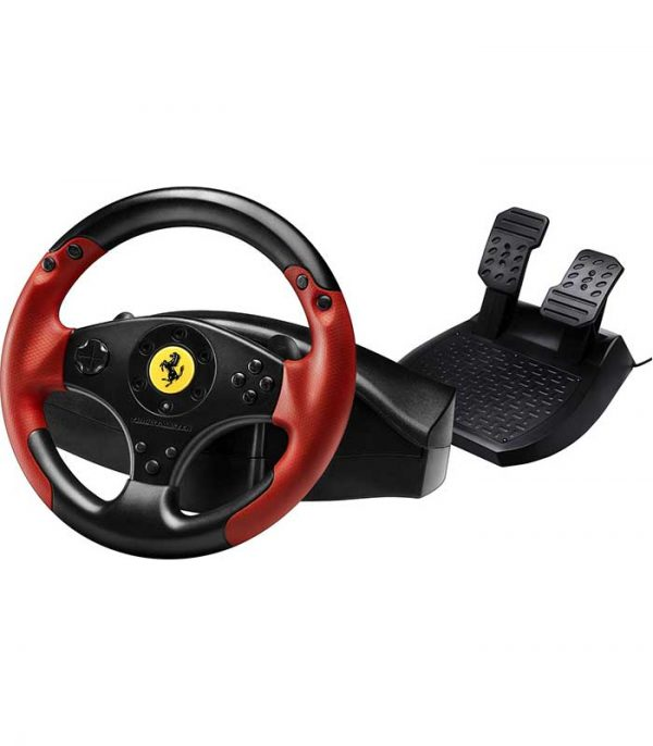 Thrustmaster Ferrari Racing Wheel Red Legend (PS3/PC) - Μαύρο/Κόκκινο