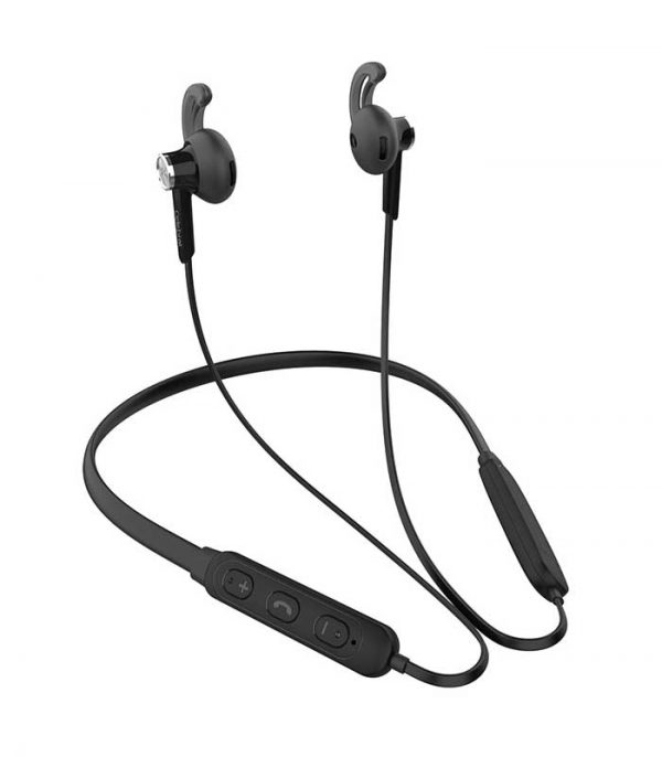 Celebrat Bluetooth earphones A16-BK με μικρόφωνο HD, Magnetic - Μαύρο