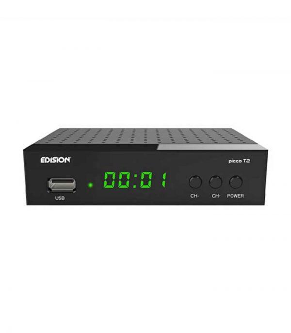 Edision Picco T2 Επίγειος Ψηφιακός Δέκτης H.264, MPEG4, Full HD DVB-T2