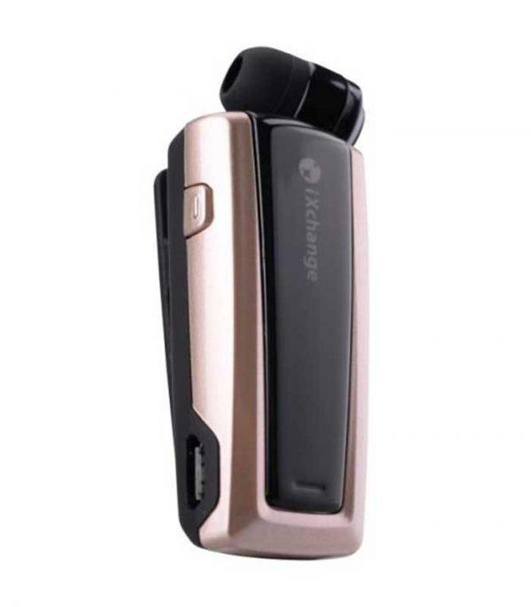 iXchange UA24ST Retractable Bluetooth mini Headset - Χρυσό