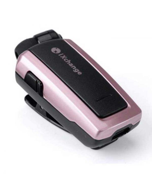 iXchange UA25XB Retractable Bluetooth Mini Headset - Ροζ Χρυσό