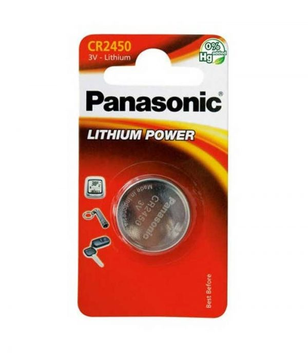 Panasonic Lithium Power CR2450 - (1τμχ)